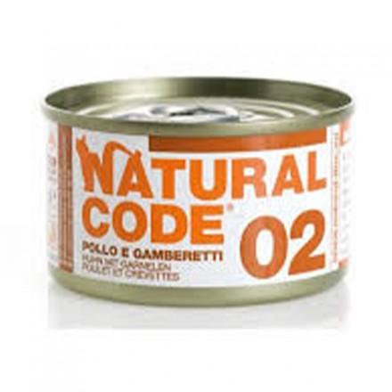 Natural Code Gatto Umido Da 85 gr