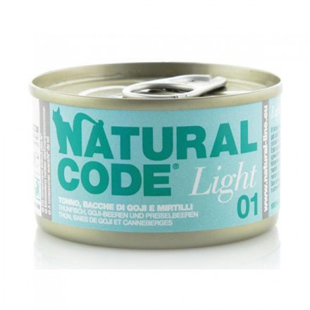 Natural Code Gatto Umido Light-Adult...
