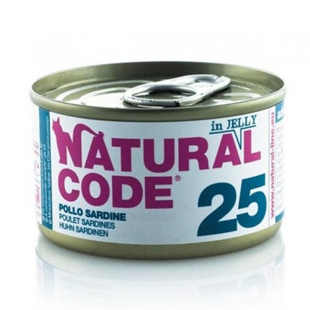 Natural Code Gatto Umido  In Jelly 85 Gr