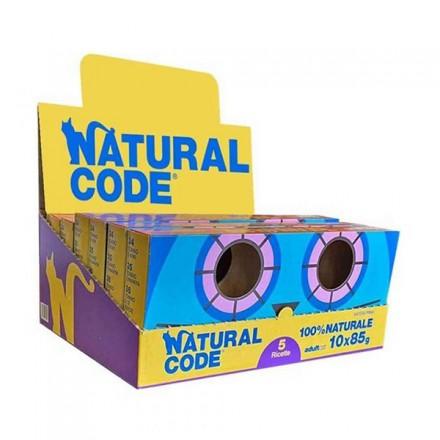 Natural Code Gatto Umido Multipack...