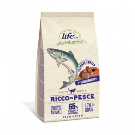 Life Cat Low Grain Secco Gatto Adult...