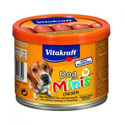 Vitakraft  Dog Minis Salsicce Pollo...
