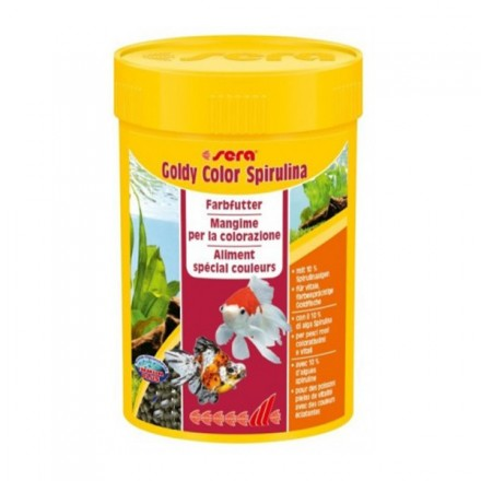 Sera Goldy Color Spirulina Mangime...