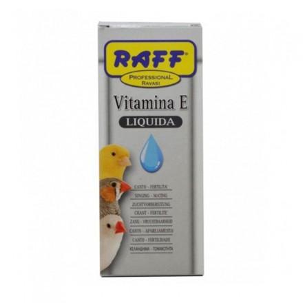 Raff Vitamina E Liquida  Per Uccelli