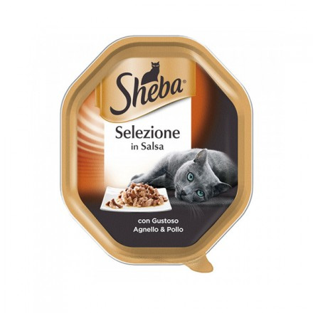 Sheba Vaschette Selezione In Salsa 85 gr
