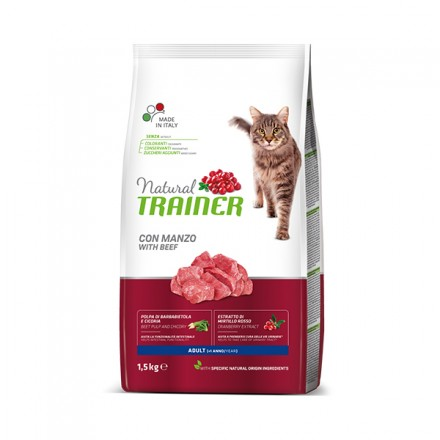 Trainer Natural New Gatto Adult Manzo