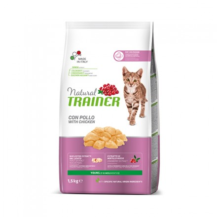 Trainer Natural New Gatto Young  Pollo