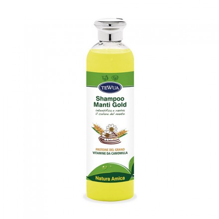 Tewua Shampoo Per Manti Gold