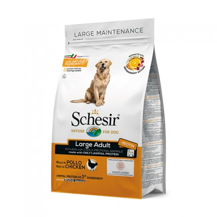 Schesir Cane Secco Large-Adult...